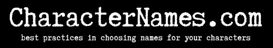 CharacterNames.com