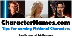 CharacterNames.com - tips for naming fictional characters